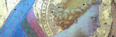 Ange en adoration, tourné vers la droite