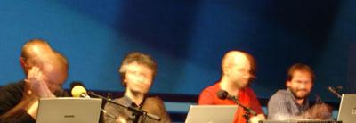 Samuel Bianchin, Martin le Chevallier, David Olivier Lartigaud, Jacques Perconte