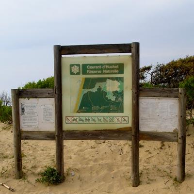 réserve naturelle du courant d'huchet