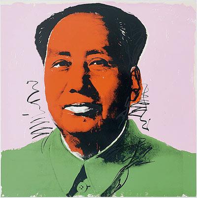 Andy Warhol, No 5 from Mao Tse-Tung, 1972