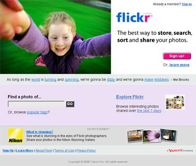 flickr, 7 juin 2006