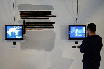 sur Jean-Luc Godard au centre Pompidou…