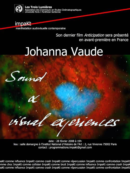 johanna vaude, impakt, institut national d'histoire de l'art
