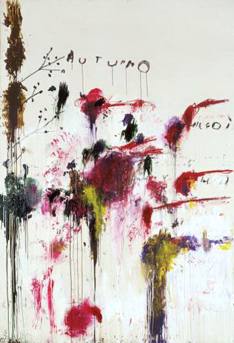 Cy Twombly : Cycles and Seasons - Quattro Stagioni: Autunno 1993-5